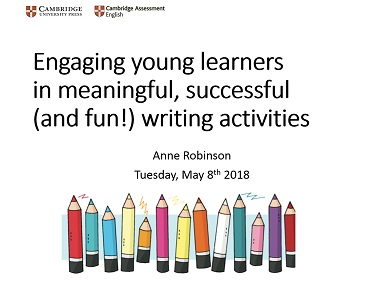 World of fun starters shares some activities and tips for developing writing skills with young learners anne is a seminar presenter for cambridge assessment english fandeluxe Choice Image